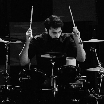 Aziz Baqer, Drums