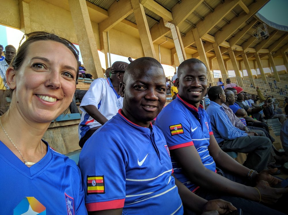 Experiencing a Ugandan club football (soccer) match – more to come on this experience