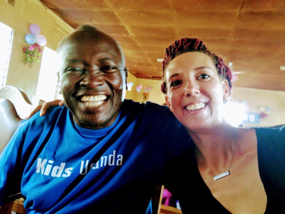 Pastor Patrick, my Ugandan Dad