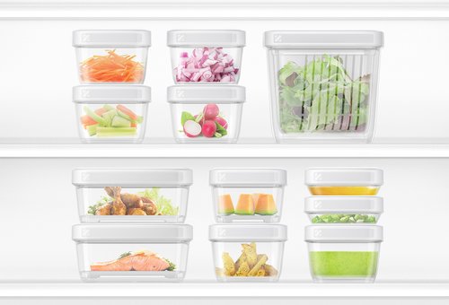 Pro For Home Refrigerator Storage Containers White Shop Geoffrey
