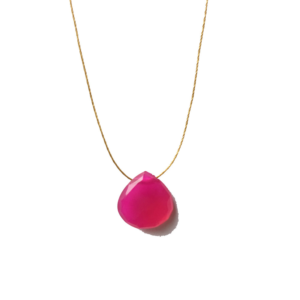 Olive May Pink Chalcedony