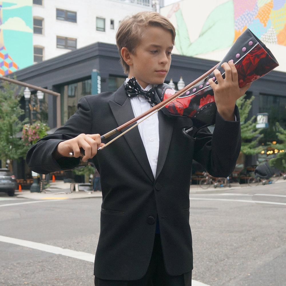 Sebastian plays the (shoe) strings on this Fluevog Babycake.