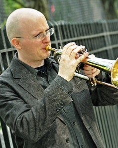 Thomas barbertrumpet/jazz Instructor - Thomas has been active as both a trumpeter and composer since graduating The Julliard School in 2004. As a composer, he has written scores for over twenty independent films and t.v. shows. As a freelance trumpeter, he has performed with Paul Simon, Brian Blade, Joe Locke, Steve Wilson, Slide Hampton, Wynton Marsalis, Wycliffe Gordon, Esperanza Spalding, Jimmy Heath, Frank Wess, Carla Cook, Tom Harrell, Nasheet Waits, and many more.After he won both the Lionel Hampton High School Trumpet Competition and the International Trumpet Guild Jazz Competition in Gothenborg, Sweden in 1997, he attended the University of Northern Colorado, graduating with a degree in classical trumpet performance. While at UNC, Thomas had opportunities to play with many of the musicians who passed through, including Louie Bellson, Pete Fountain, Nicholas Payton, Maria Schneider, Bob Brookmeyer, Conrad Herwig and Kenny Wheeler.Thomas resides in Portland and is a member of the funk/ soul group Dirty Revival, which tours the country year round.