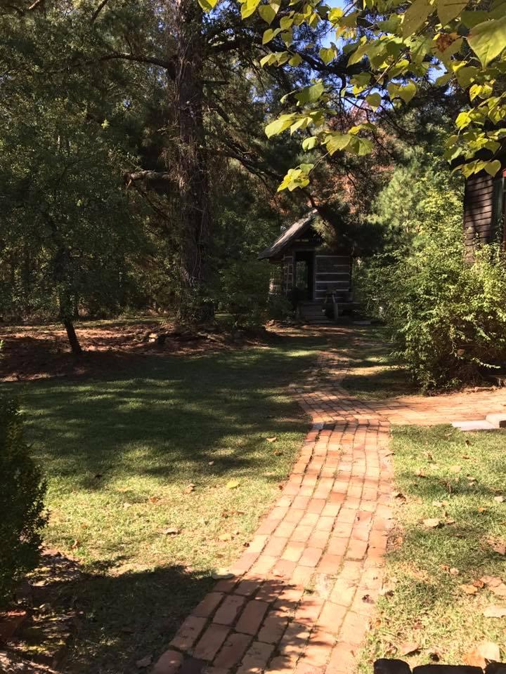 """The artist's cabin (""""Becca's Cabin"""")"""