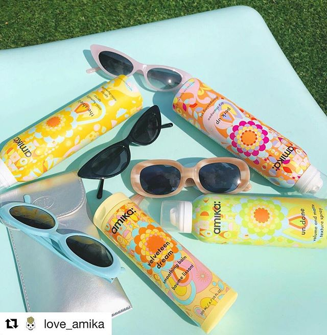 If you missed the @love_amika giveaway you're not the only ones 😆 heck we might do an in-salon product special for September 🤔. In the meantime we're just over here loving this AZ weather now that the intense heat is over!  Have a fabulous weekend friends!!! #Repost @love_amika @crapeyewear