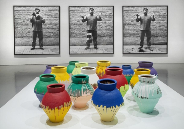 """In 2014, a visitor at the Perez Art Museum Miami intentionally destroyed a vase from Chinese artist Ai WeiWei's """"According to What?"""" exhibition. Luckily, the piece was properly insured."""