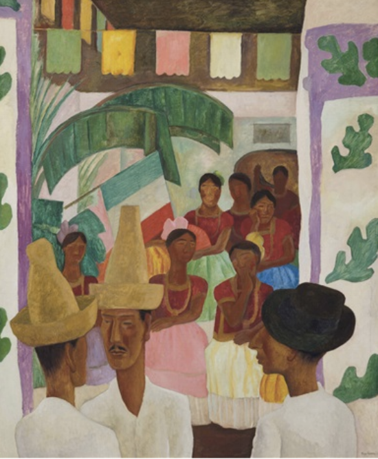 Diego Rivera's  The Rivals  set a new record for the artist this year, selling for $9.76 million at Christie's.