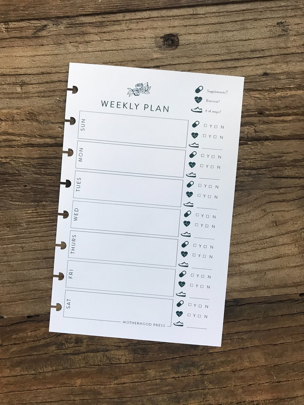 The Weekly Plan