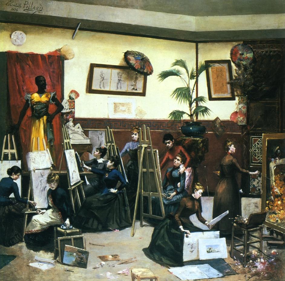 """""""A Studio Of Their Own"""" by Elizabeth Pillard"""