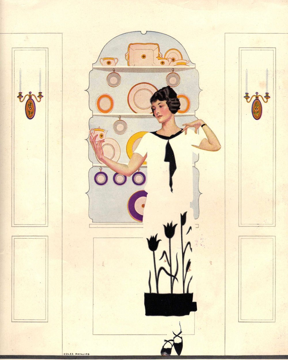 Illustration by Coles Phillips.