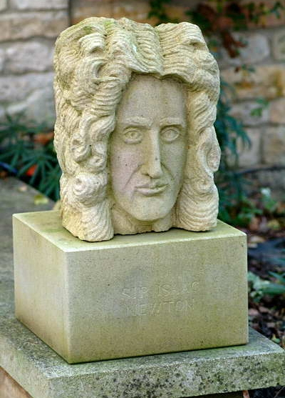 Sir Isaac Newton by Graeme Mitcheson.