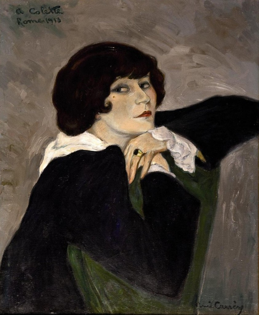 Portrait of Colette