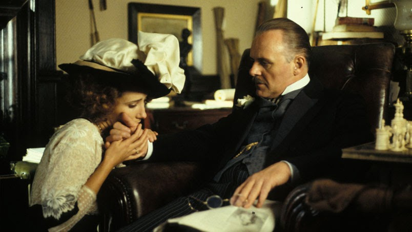 "Emma Thompson and Anthony Hopkins in ""Howard's End"""