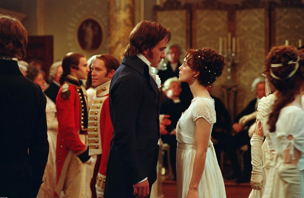"Matthew Macfadyen and Keira Knightly in ""Pride and Prejudice"""