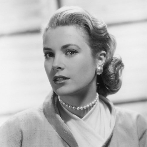 "Grace Kelly in the ""Collar"""