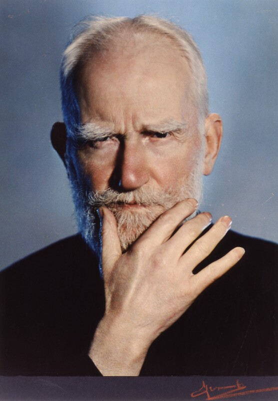 George Bernard Shaw, 1937 - Photo by Madame Yevonde
