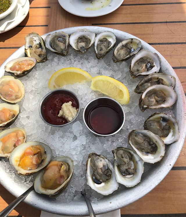 #oysters #clam #clamscasino #summereats #summereats #summertravels #summer2018 . . . . . #foody #foodpic #foodpics #foodie #foodies #foodiegram #eatstagram #foodtrip #foodgasm #foodphotography #foodphoto #eeeeeats #eatlocal #eatstagram #localfood #eatmoreseafood #oysterbar #oysterfest #oysterlover #instagood