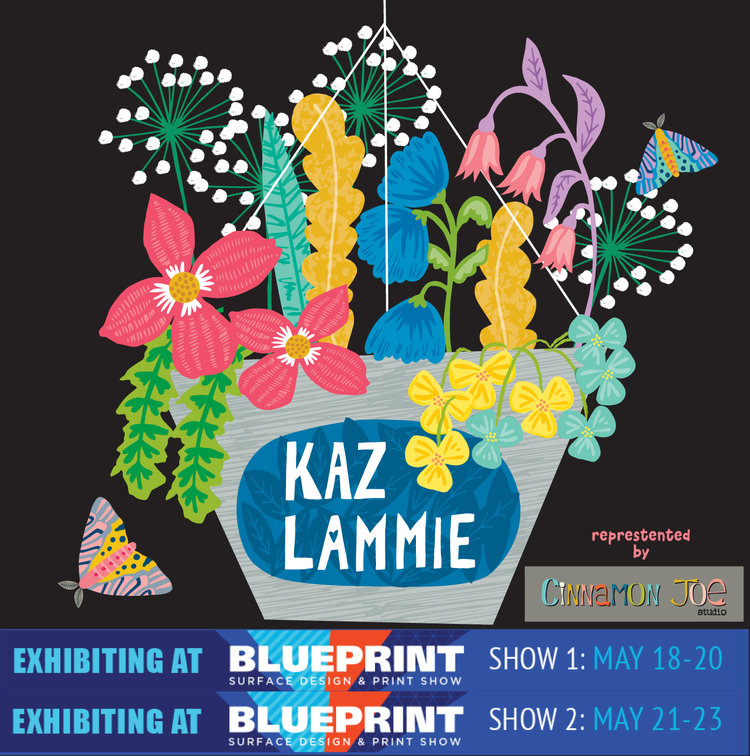 Blueprint preview part 2 surface design and print trade show may cinnamonjoeblueprintshowsaprilg malvernweather Images
