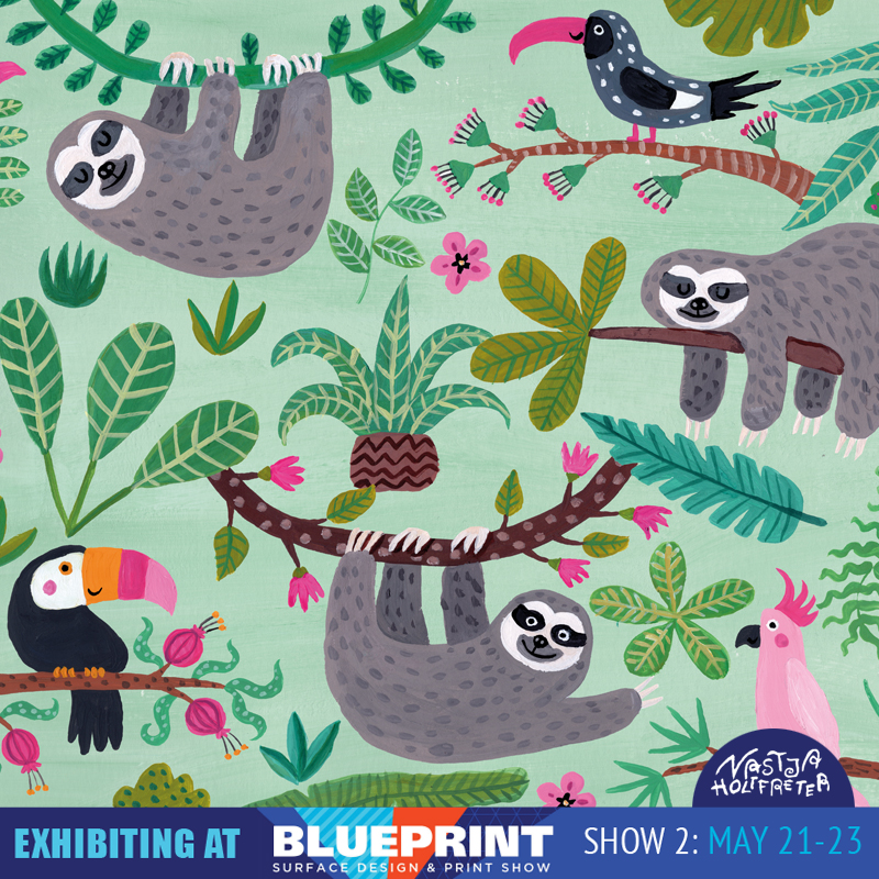 Blueprint preview part 1 surface design print trade show new blueprintinstagramnastjaholtfreterslothsg malvernweather Gallery