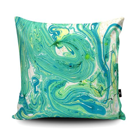 Abstract Marble Cushion By Elise Chevry