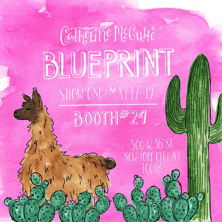 Blueprint exhibitor catherine mcguire rise design shine catherine mcguire llama flyerg malvernweather Image collections