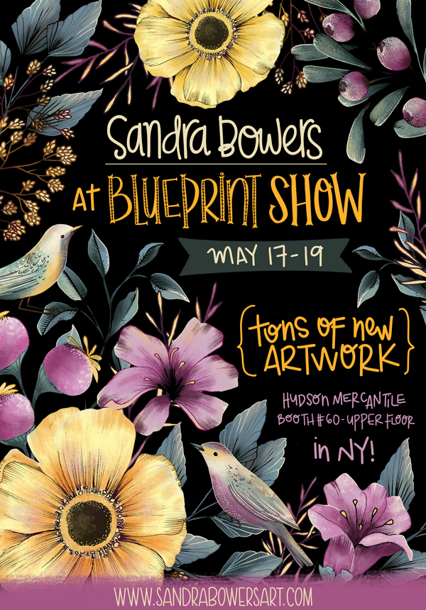 Blueprint exhibitor sandra bowers rise design shine sandra bowers is colombian illustrator and surface pattern designer based in bc canada she creates detailed stylized playful illustrations and patterns malvernweather Gallery