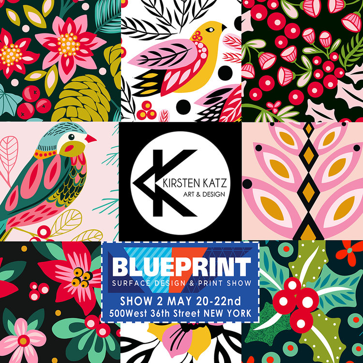 Blueprint exhibitor kirsten katz rise design shine kirsten katz blueprint show 2g malvernweather Gallery
