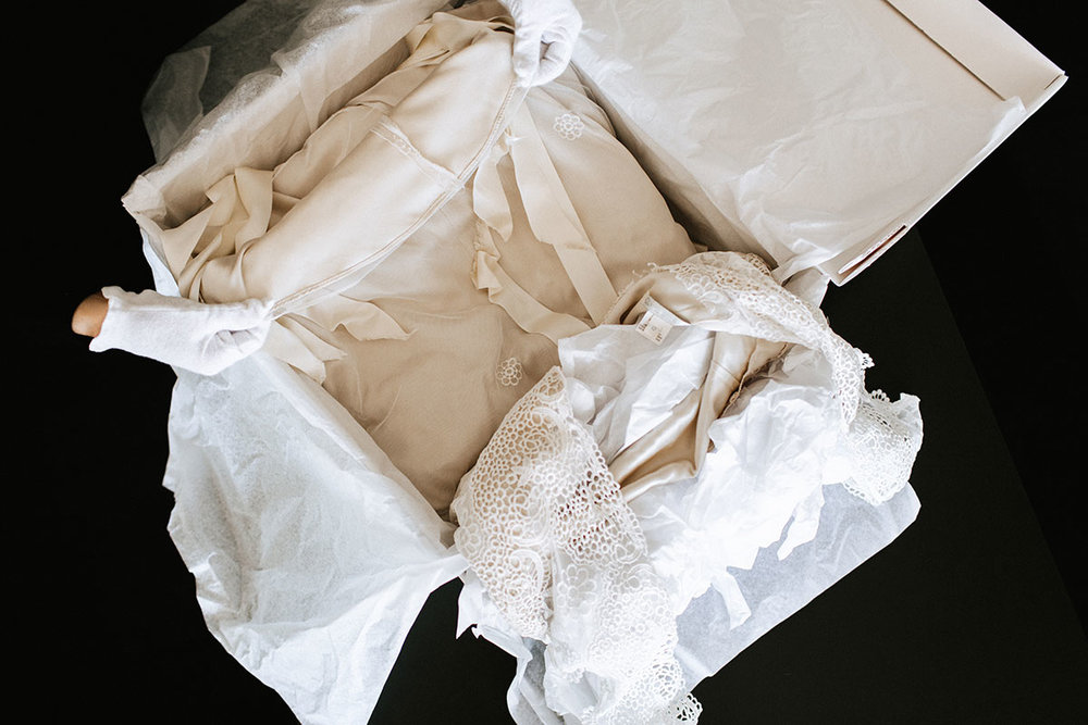 Restoring A Wedding Gown