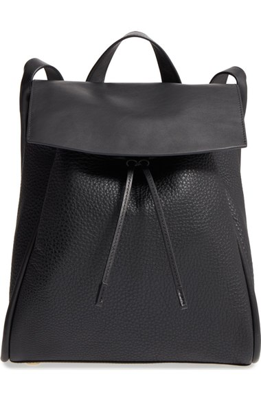Skagen Leather Backpack