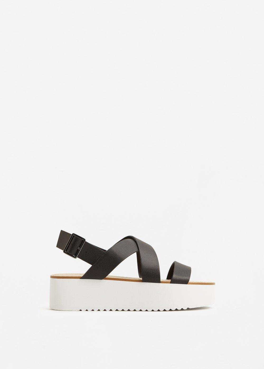 Mango Platform sandals $59.99