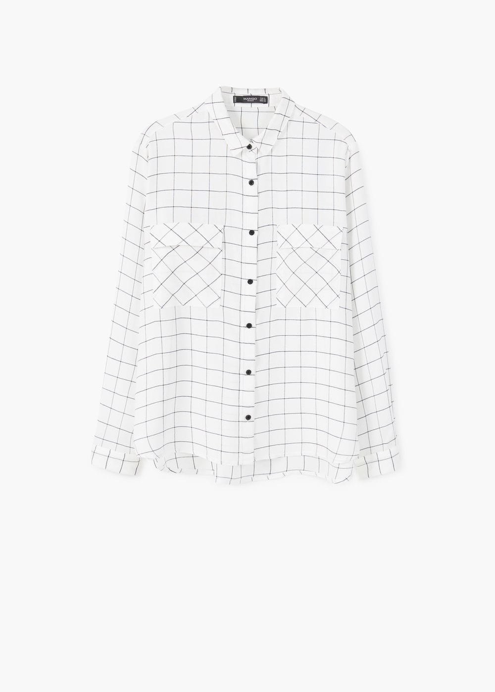 MAngo Check Shirt $45.99