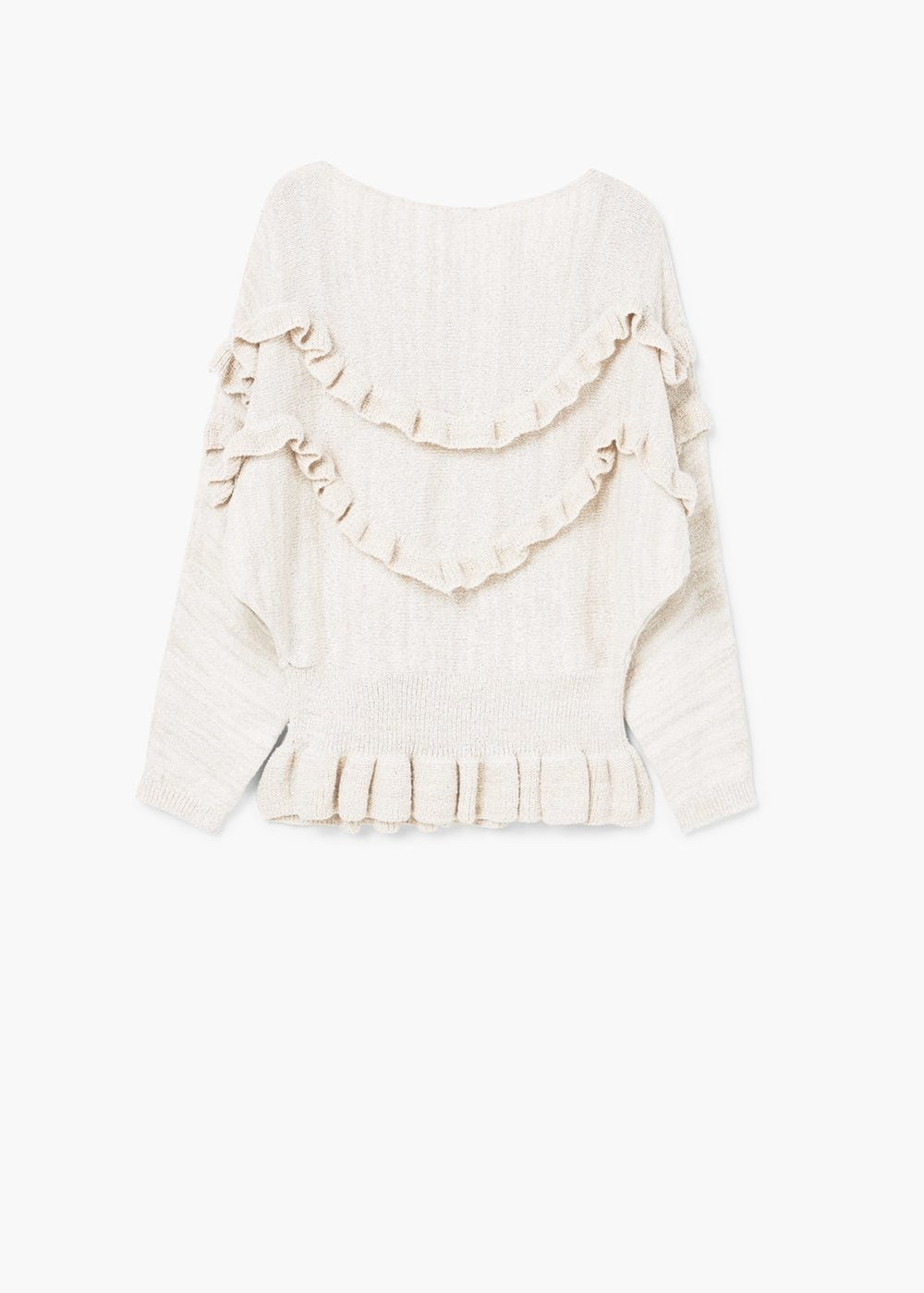 mango Ruffled sweater $69.99