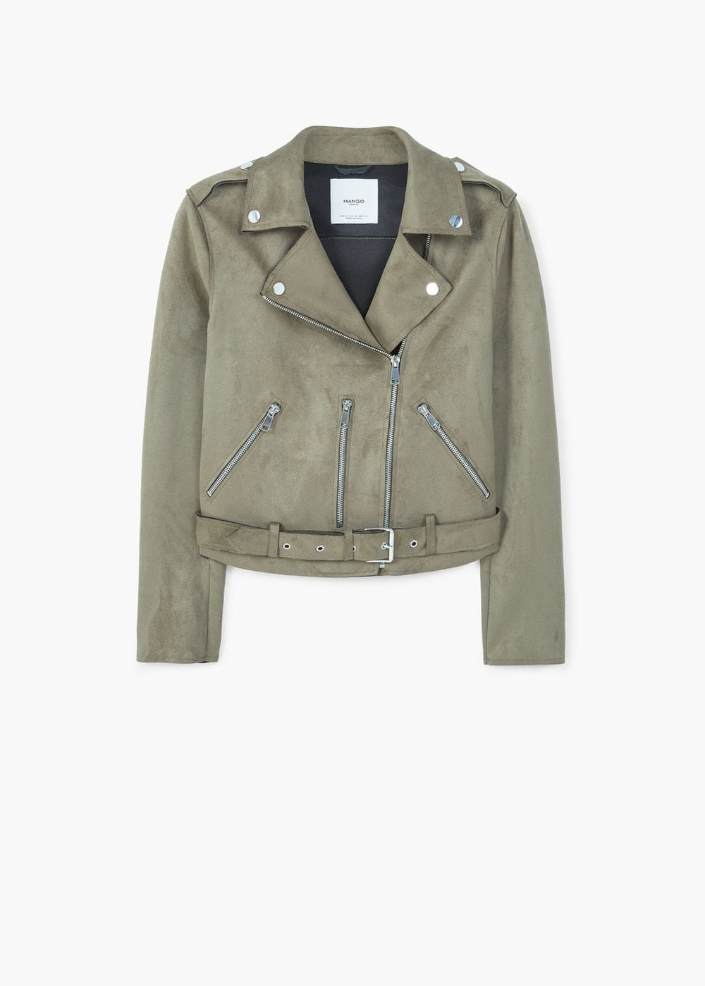 MAngo crop Biker Jacket