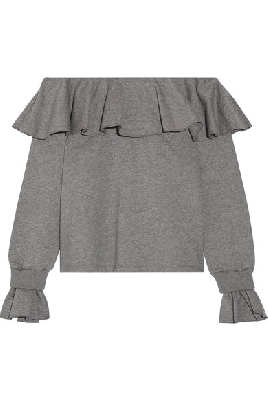 shoulder Ruffled $295.00