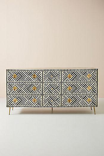 Inlay Nine-Drawer Dresser $2,098.50