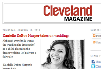 Cleveland Magazine Blog January 2013