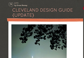 Design*Sponge Cleveland City Guide – 2011, 2008