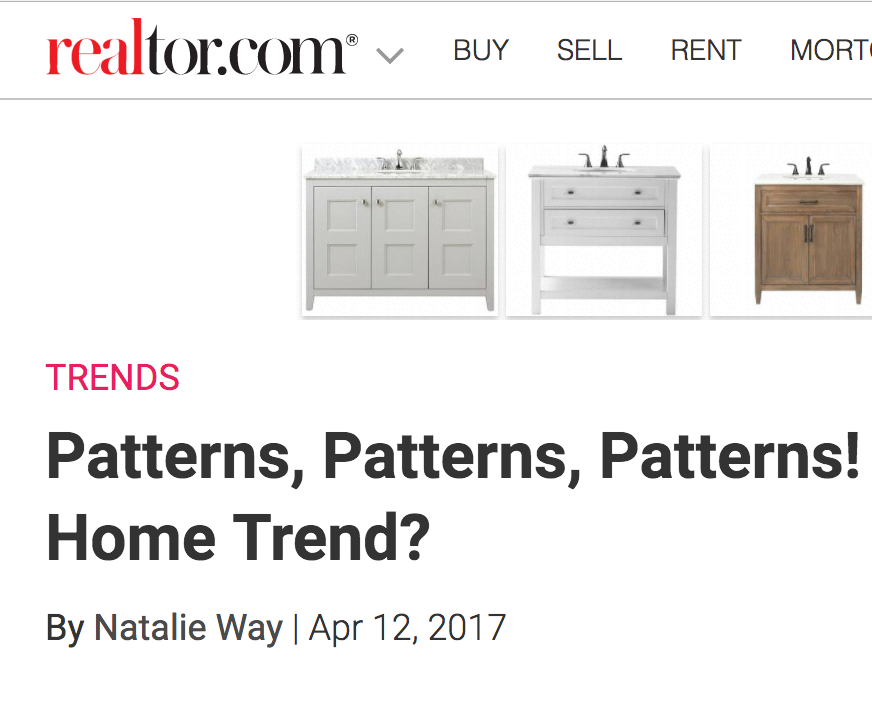 Realtor.com story on trends features quotes from Danielle found HERE