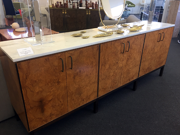 We played The Price is Right with this $8,500 Milo Baughman credenza. We were sooooo off.