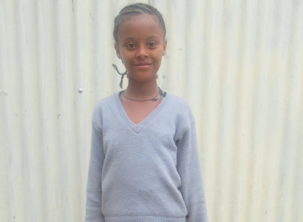 Mekedes, 5th grade - BEHIND HER HUMBLENESS THERE'S A BURNING DESIRE TO ACHIEVE