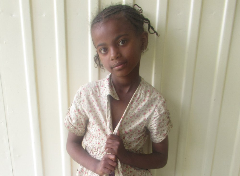 Roza, 1st grade - SHE SAYS SHE IS A FUTURE DOCTOR
