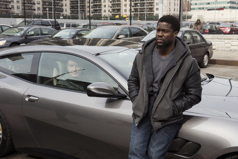 Bryan Cranston and Kevin Hart stars in THE UPSIDE