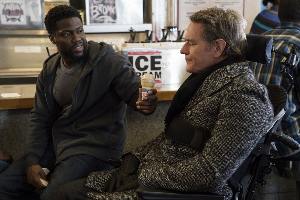 Kevin Hart and Bryan Cranston star in THE UPSIDEDavid Lee/Photographer
