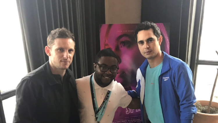 Max Minghella and Jamie Bell Discuss Teen Spirit