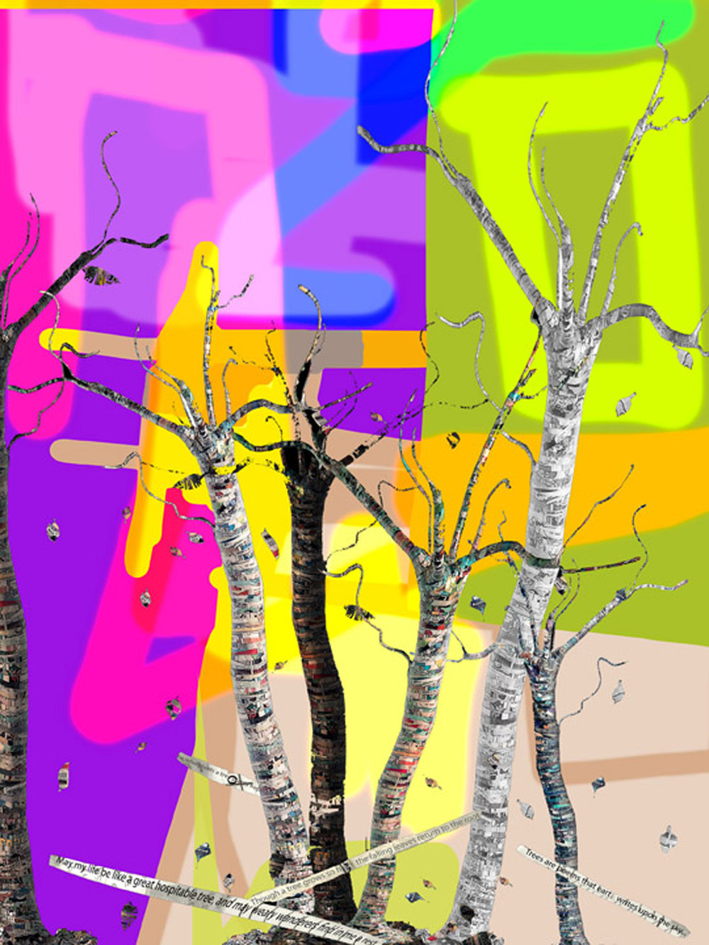 Painted Trees 4