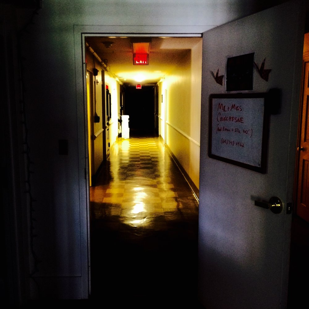 The mysterious door that leads Sasha and Chris to haunting other worlds on the daily.