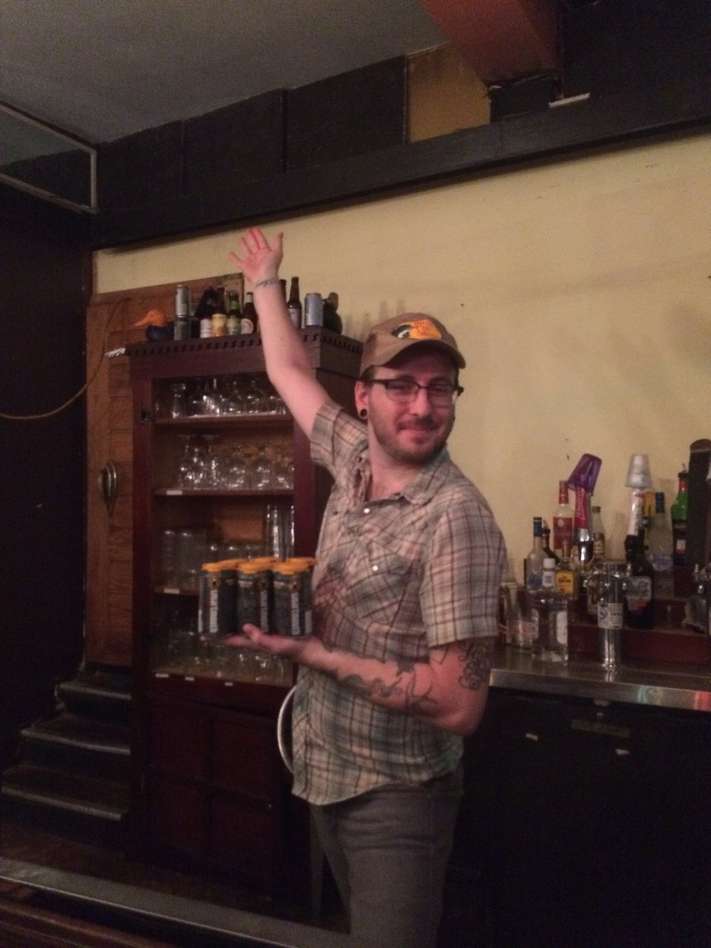 Vanna Tyler, bartender extraordinaire