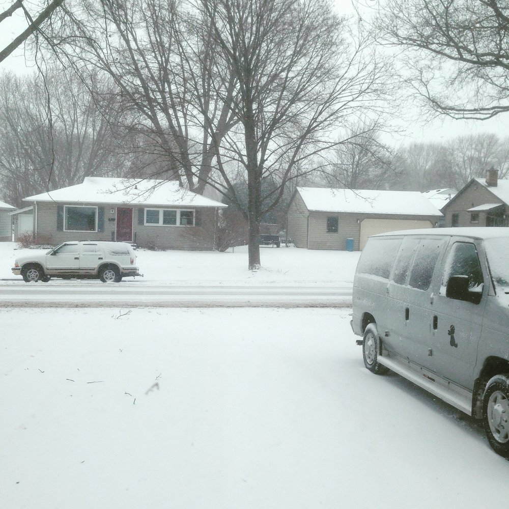 SPRINGTIME TOUR IN WISCONSIN YEAH! GET THE SHOVEL! GET IN THE VAN!