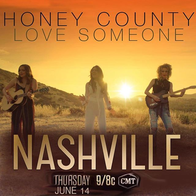 As announced on the podcast...THESE GIRLS + THIS song + THAT SHOW 🙌🏻😍💯 tomorrowwwww 📺 @cmt @nashvillecmt @honeycounty