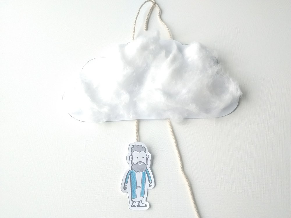 A hanging cloud_Home to Heaven